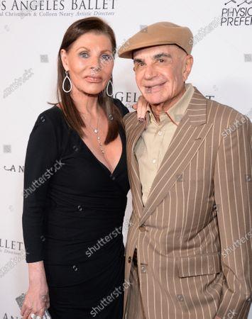 Stock Image of Robert Shapiro and wife Linell Shapiro