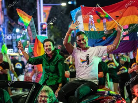Editorial picture of 42nd annual Gay and Lesbian Mardi Gras parade, Sydney, Australia - 29 Feb 2020