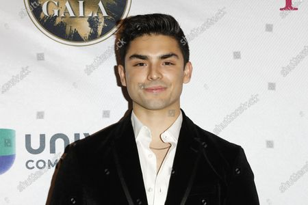 Diego Tinoco arrives for The National Hispanic Media Coalition's 2020 Impact Awards at the Beverly Wilshire Four Seasons Hotel in Beverly Hills, California, USA 28 February 2020.