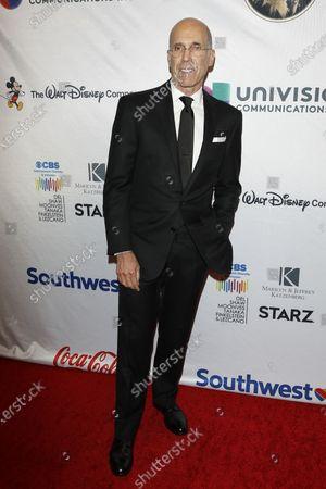 Jeffrey Katzenberg arrives for The National Hispanic Media Coalition's 2020 Impact Awards at the Beverly Wilshire Four Seasons Hotel in Beverly Hills, California, USA 28 February 2020.