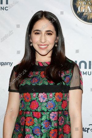 Stock Photo of Gabrielle Ruiz arrives for The National Hispanic Media Coalition's 2020 Impact Awards at the Beverly Wilshire Four Seasons Hotel in Beverly Hills, California, USA 28 February 2020.