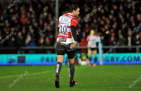 "Danny Cipriani and the Gloucester rugby team wore their rugby shirts with the words ""Be Kind"" for tonight's game against Sale Sharks"