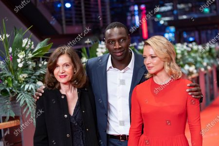 Stock Photo of Anne Fontaine, Omar Sy and Virginie Efira