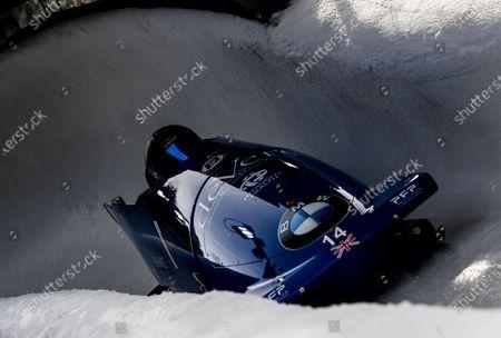 Editorial image of Bobsleigh & Skeleton World Championships, Altenberg, Germany - 29 Feb 2020