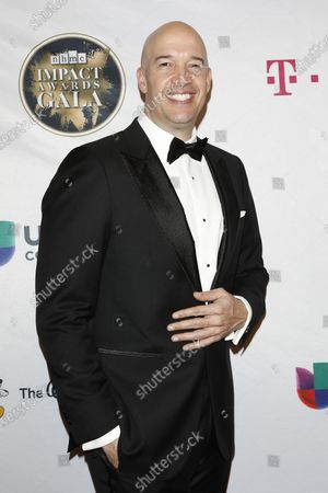 Hiram Garcia arrives for The National Hispanic Media Coalition's 2020 Impact Awards at the Beverly Wilshire Four Seasons Hotel in Beverly Hills, California, USA 28 February 2020.