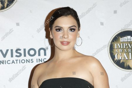 Isabella Gomez arrives for The National Hispanic Media Coalition's 2020 Impact Awards at the Beverly Wilshire Four Seasons Hotel in Beverly Hills, California, USA 28 February 2020.