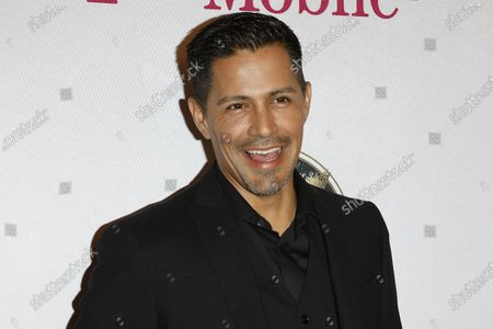 Stock Image of Jay Hernandez arrives for The National Hispanic Media Coalition's 2020 Impact Awards at the Beverly Wilshire Four Seasons Hotel in Beverly Hills, California, USA 28 February 2020.
