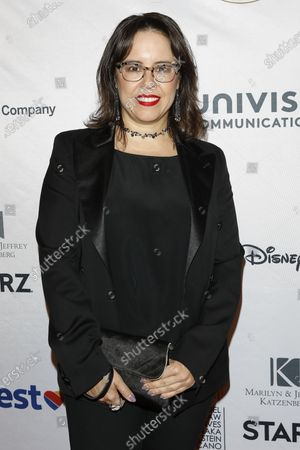 Stock Image of Patricia Riggen arrives for The National Hispanic Media Coalition's 2020 Impact Awards at the Beverly Wilshire Four Seasons Hotel in Beverly Hills, California, USA 28 February 2020.