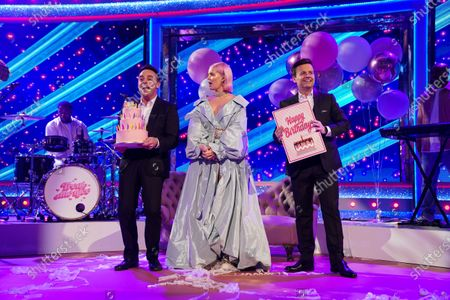 Anne-Marie Rose Nicholson with Ant & Dec