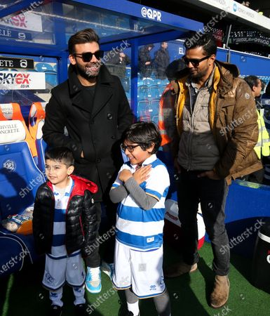 QPR Marketing & Commercial, Mascots, First time fans, presentations & flag bearers. Amit Bhatia