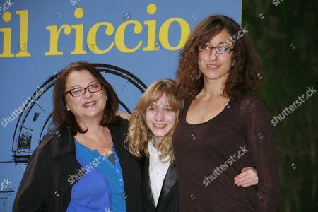 Stock Picture of Josiane Balasko, Garance Le Guillermic and Mona Achache