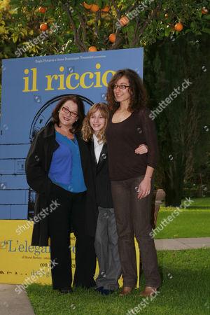 Editorial image of 'Riccio' photo call at The French Embassy, Palazzo Farnese, Rome, Italy - 03 Dec 2009