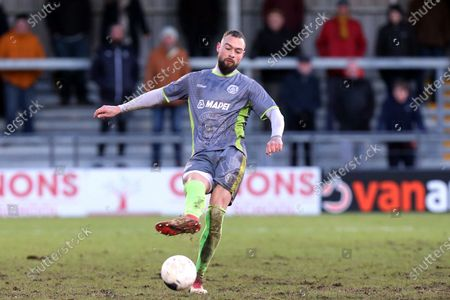 Rob Evans of Halesowen Town during Barnet vs Halesowen Town, Buildbase FA Trophy Football at the Hive Stadium on 29th February 2020