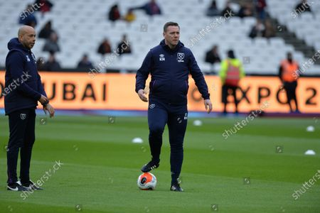 West Ham First Team Coach Kevin Nolan during West Ham United vs Southampton, Premier League Football at The London Stadium on 29th February 2020