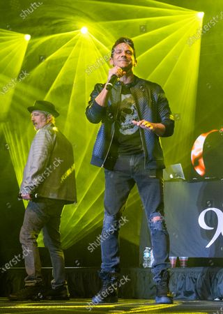 Editorial image of 98 Degrees in concert at The Coconut Creek Casino, Coconut Creek, Florida, USA - 28 Feb 2020