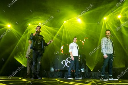 Editorial picture of 98 Degrees in concert at The Coconut Creek Casino, Coconut Creek, Florida, USA - 28 Feb 2020