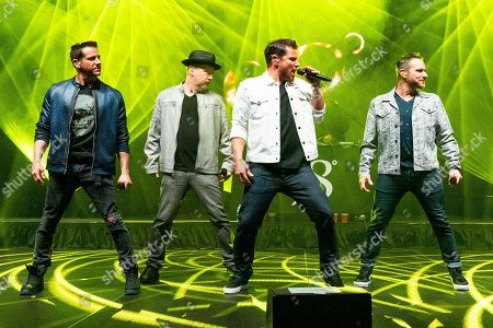 Editorial photo of 98 Degrees in concert at The Coconut Creek Casino, Coconut Creek, Florida, USA - 28 Feb 2020