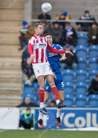 Editorial picture of Colchester United vs Cheltenham Town, Sky Bet EFL League 2, Football, the JobServe Community Stadium, Colchester, Essex, United Kingdom - 29 Feb 2020