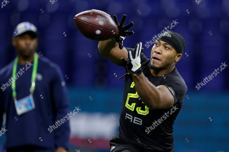 Editorial photo of NFL Combine Football, Indianapolis, USA - 28 Feb 2020