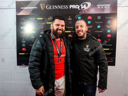 Editorial image of Guinness PRO14, Thomond Park, Limerick, Co. Limerick - 29 Feb 2020