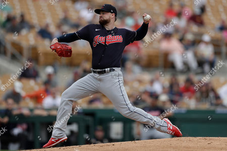 Editorial photo of Indians White Sox Spring Baseball, Glendale, USA - 28 Feb 2020