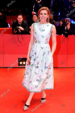 Franziska Weisz arrives for the Closing and Awards Ceremony of the 70th annual Berlin International Film Festival (Berlinale), in Berlin, Germany, 29 February 2020. The Berlinale runs from 20 February to 01 March 2020.