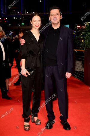 Paula Beer and Christian Petzold (R) arrive for the Closing and Awards Ceremony of the 70th annual Berlin International Film Festival (Berlinale), in Berlin, Germany, 29 February 2020. The Berlinale runs from 20 February to 01 March 2020.