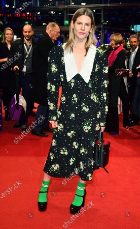 Aino Laberenz arrives for the Closing and Awards Ceremony of the 70th annual Berlin International Film Festival (Berlinale), in Berlin, Germany, 29 February 2020. The Berlinale runs from 20 February to 01 March 2020.