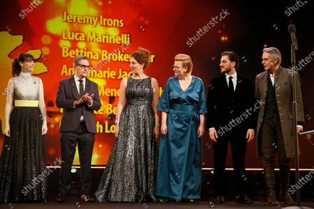 Editorial photo of Closing and Awards Ceremony - 70th Berlin Film Festival, Germany - 29 Feb 2020
