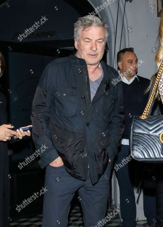 Editorial picture of Alec Baldwin and Hilaria Baldwin out and about, Los Angeles, USA - 29 Feb 2020