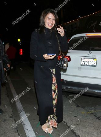 Editorial photo of Alec Baldwin and Hilaria Baldwin out and about, Los Angeles, USA - 29 Feb 2020