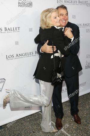 Elaine Wynn and Kenny Ortega