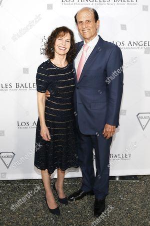 Lori Milken and Michael Milken