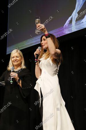 Sharon Davis and Kirsten Sarkisian