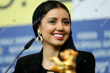 Actress Baran Rasoulof, winner of the Golden Bear on behalf of director Mohammad Rasoulof for the movie 'Sheytan vojud nadarad' (There Is No Evil) attends the Winners' Press Conference after the Closing and Awards Ceremony of the 70th annual Berlin International Film Festival (Berlinale), in Berlin, Germany, 29 February 2020. The Berlinale runs from 20 February to 01 March 2020.