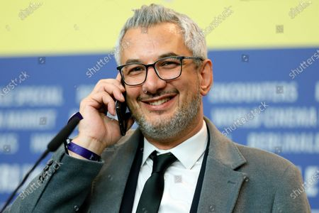 Producer Farzad Pak, winner of the Golden Bear on behalf of director Mohammad Rasoulof for the movie 'Sheytan vojud nadarad' (There Is No Evil) attends the Winners' Press Conference after the Closing and Awards Ceremony of the 70th annual Berlin International Film Festival (Berlinale), in Berlin, Germany, 29 February 2020. The Berlinale runs from 20 February to 01 March 2020.