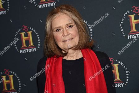 """Journalist Gloria Steinem attends A+E Network's """"HISTORYTalks: Leadership and Legacy"""" at Carnegie Hall, in New York"""