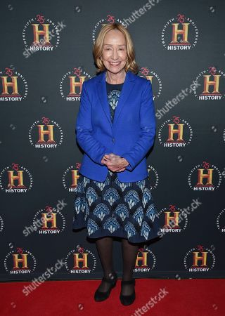 "Stock Image of Doris Kearns Goodwin attends A+E Network's ""HISTORYTalks: Leadership and Legacy"" at Carnegie Hall, in New York"