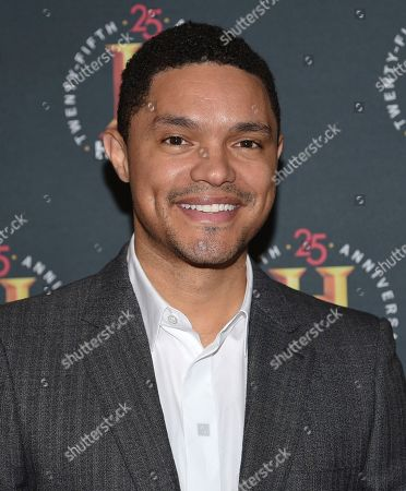 "Trevor Noah attends A+E Network's ""HISTORYTalks: Leadership and Legacy"" at Carnegie Hall, in New York"