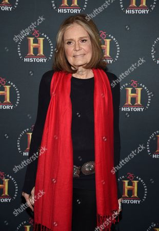 """Gloria Steinem attends A+E Network's """"HISTORYTalks: Leadership and Legacy"""" at Carnegie Hall, in New York"""