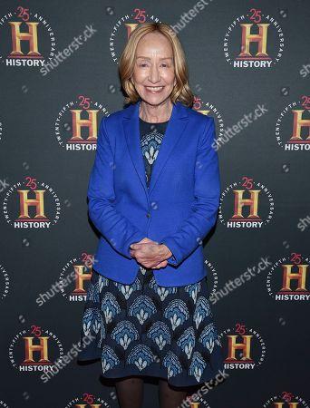 "Stock Photo of Doris Kearns Goodwin attends A+E Network's ""HISTORYTalks: Leadership and Legacy"" at Carnegie Hall, in New York"