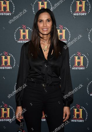 """Padma Lakshmi attends A+E Network's """"HISTORYTalks: Leadership and Legacy"""" at Carnegie Hall, in New York"""