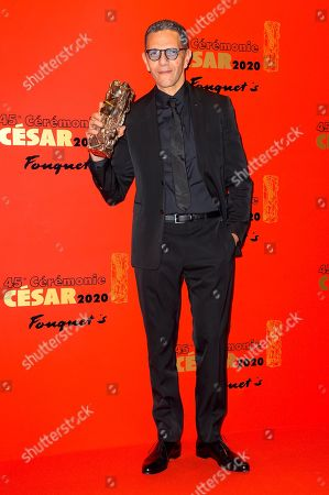 Editorial image of 45th Cesar film awards, Fouquet's Restaurant event, Paris, France - 28 Feb 2020