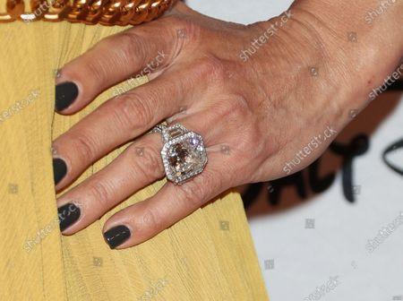 Stock Photo of Dany Garcia, jewellery detail