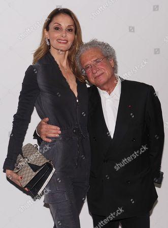Laurent Dassault and Mayassa Dardari