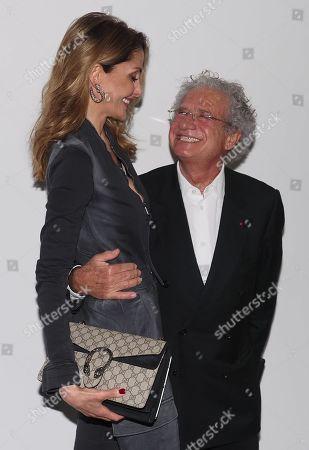 Stock Photo of Laurent Dassault and Mayassa Dardari
