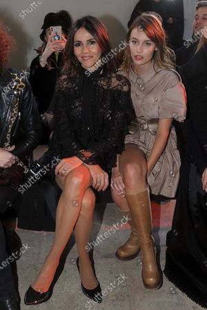 Goya Toledo and Lena Simonne