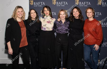 Stock Photo of Miriam Shor, Lola Kirke, Amy Ryan, Anne Carey, Liz Garbus