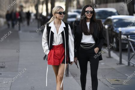 Caroline Daur and Evangelie Smyrniotaki