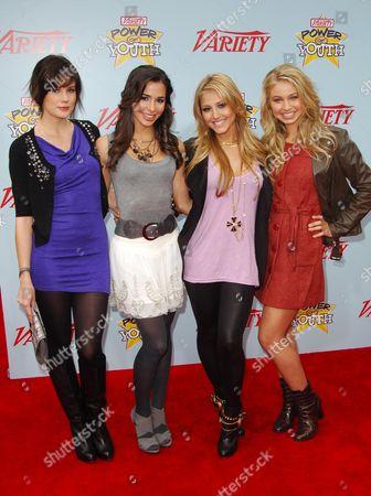 Chelsea Hobbs, Josie Loren, Cassie Scerbo and Ayla Kell